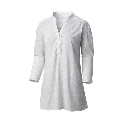 textil Mujer túnicas Columbia Early tide tunic blanco