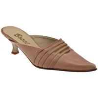 Zapatos Mujer Zuecos (Clogs) Bocci 1926  Marrón