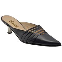 Zapatos Mujer Zuecos (Clogs) Bocci 1926  Negro