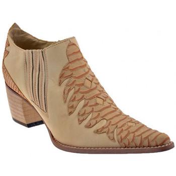 Zapatos Mujer Botines Bocci 1926  Naranja