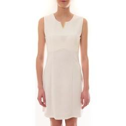 textil Mujer Vestidos cortos Vera & Lucy Robe sans manches Blanc R6236 Blanco