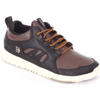 Zapatos de skate Etnies SCOUT MT black brown