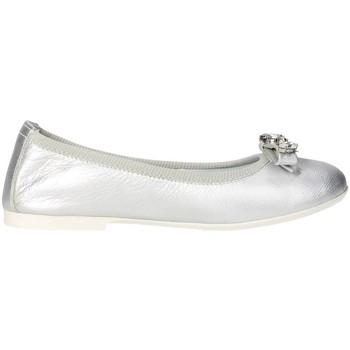 Zapatos Niña Bailarinas-manoletinas Blumarine Blumarine  D1053 Bailarinas Chica Plata Plata
