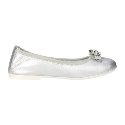Zapatos Niña Bailarinas-manoletinas Blumarine D1053 Plata