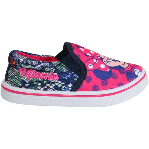 Zapatos Niña Slip on Disney S15312H Rojo