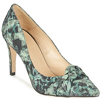 Zapatos Mujer Zapatos de tacón Ikks ESCARPIN NŒUD Gris