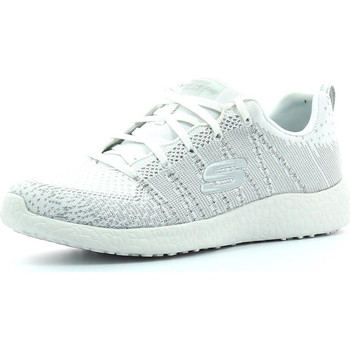 Zapatos Mujer Sport Indoor Skechers Burst First Glimpes Blanco