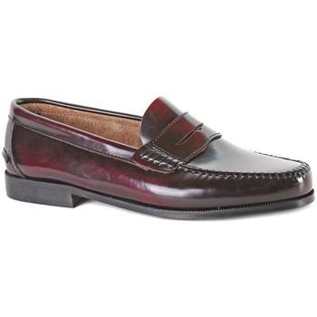 Zapatos Hombre Mocasín Castellanos Artesanos  BURDEOS