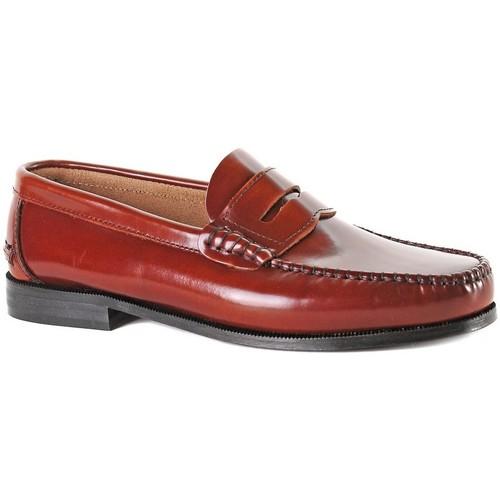 Zapatos Hombre Mocasín Castellanos Artesanos  CUERO