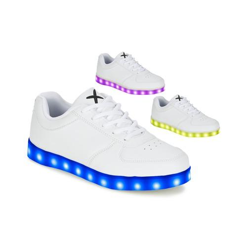 Zapatos especiales para hombres y mujeres Wize & Ope THE LIGHT Blanco