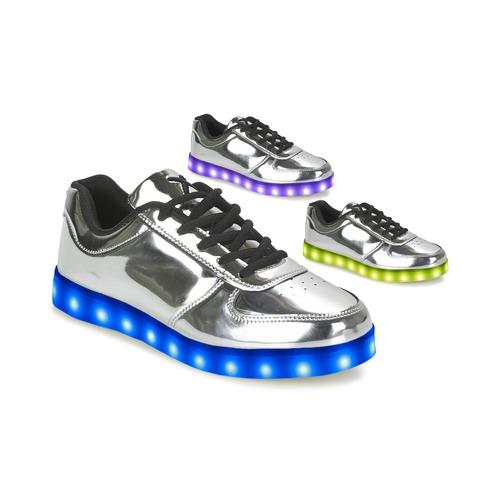 Recortes de precios estacionales, beneficios de descuento Wize & Ope THE LIGHT Plata - Envío gratis Nueva promoción - Zapatos Deportivas bajas Mujer  Plata