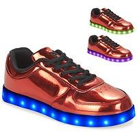 Zapatos Mujer Zapatillas bajas Wize & Ope POP Rojo