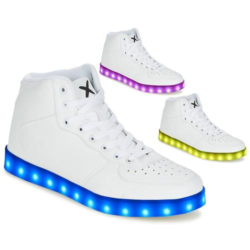 Zapatos especiales para hombres y mujeres Wize & Ope THE HI TOP Blanco
