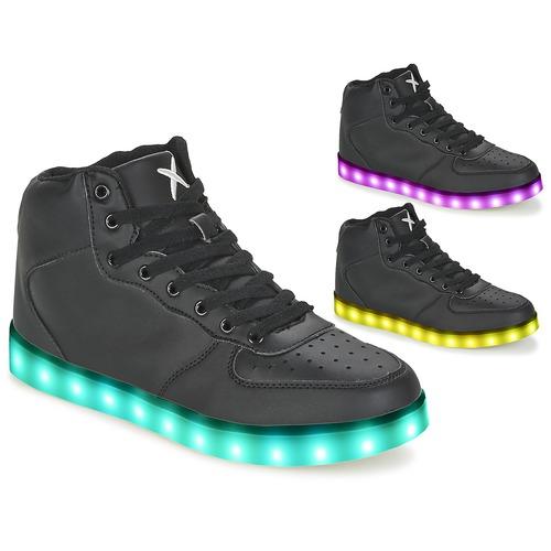 Zapatos especiales para hombres y mujeres Wize & Ope THE HI TOP Negro