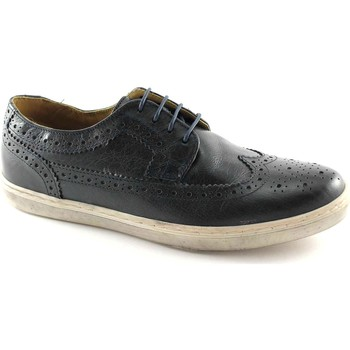 Zapatos Hombre Derbie Base London BAS-PP09400-NA Blu