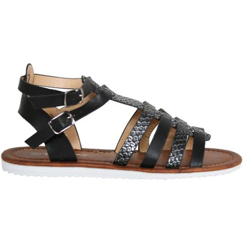 Zapatos Niña Sandalias Top Way B715300-B7200 Negro