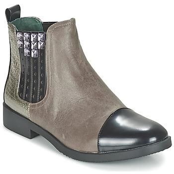 Zapatos Mujer Botas de caña baja Café Noir BARBERINE Topotea
