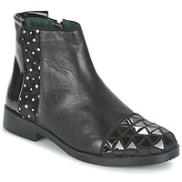 Zapatos Mujer Botas de caña baja Café Noir BARTHY Negro