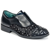 Zapatos Mujer Derbie Café Noir BASILE Negro