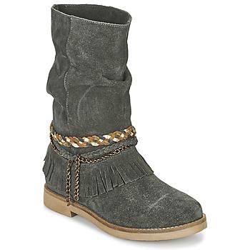 Zapatos Mujer Botas urbanas Coolway BIARA Gris
