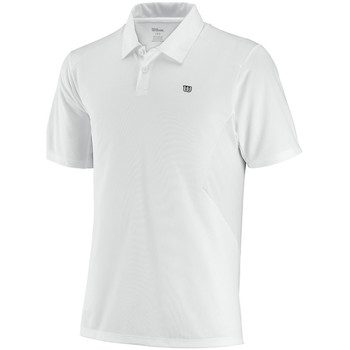 textil Hombre polos manga corta Wilson Great Get Polo Blanco