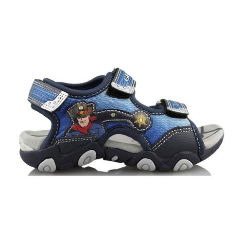 Zapatos Niños Sandalias de deporte Geox STRIKE A. AZUL