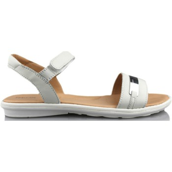 Zapatos Niña Sandalias Geox SAND MILK BLANCO