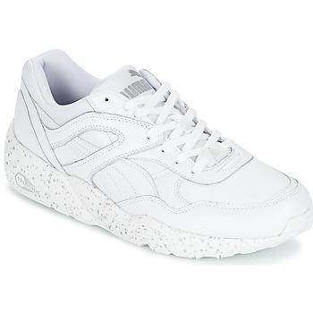 Zapatos Hombre Zapatillas bajas Puma R698 SPECKLE Blanco / Plateado