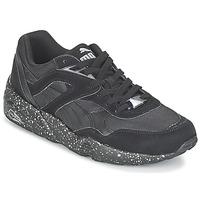 Zapatos Hombre Zapatillas bajas Puma R698 SPECKLE V2 Negro / Plateado