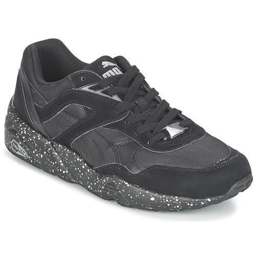 Zapatos especiales para hombres y mujeres Puma R698 SPECKLE V2 Negro / Plateado
