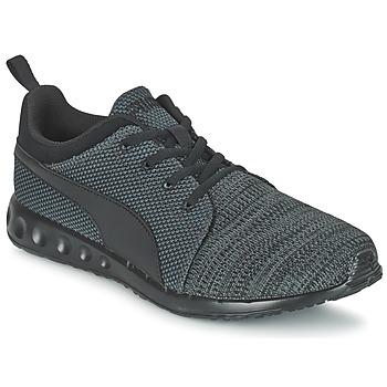 Zapatos Hombre Zapatillas bajas Puma CARSON RUNNER CAMO KNIT EEA Negro / Gris