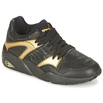 Zapatos Mujer Zapatillas bajas Puma BLAZE GOLD WN'S Negro / Oro