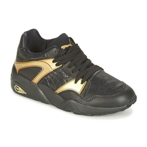 Los zapatos más populares para hombres y mujeres Zapatos especiales Puma BLAZE GOLD WN'S Negro / Oro