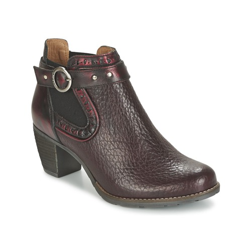 Zapatos Mujer Low boots Dkode CLOA Burdeo