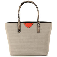 Bolsos Mujer Bolso shopping Coccinelle B14 LUX 511 Beige