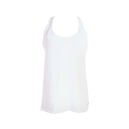 textil Mujer camisetas sin mangas Roxy LILOU VEST blanco
