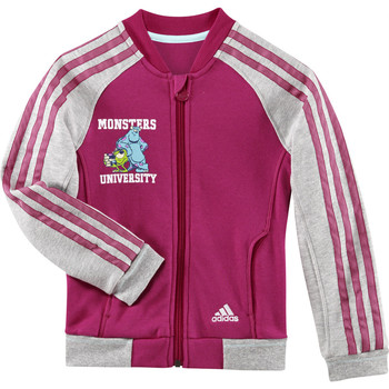textil Niña chaquetas de deporte adidas Performance Disney monsters university track top Rosa