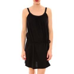 textil Mujer vestidos cortos Little Marcel Litlle Marcel Robe Reira Noir Negro