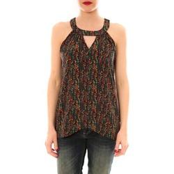 textil Mujer camisetas sin mangas Little Marcel Débardeur  Taos Gris Carbone Gris