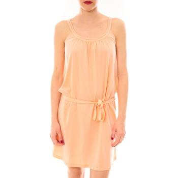 textil Mujer vestidos cortos Little Marcel Litlle Marcel Robe Reira Orange Naranja