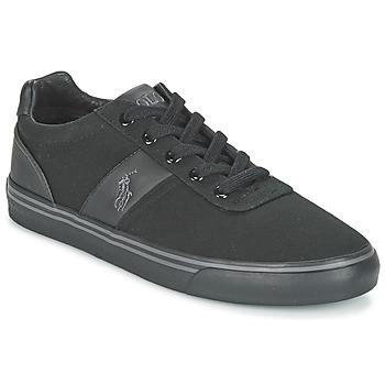 Zapatos Hombre Zapatillas bajas Ralph Lauren HANFORD-NE Negro