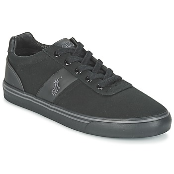 Zapatos Hombre Zapatillas bajas Polo Ralph Lauren HANFORD-NE Negro