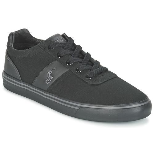 Zapatos especiales para hombres y mujeres Polo Ralph Lauren HANFORD-NE Negro