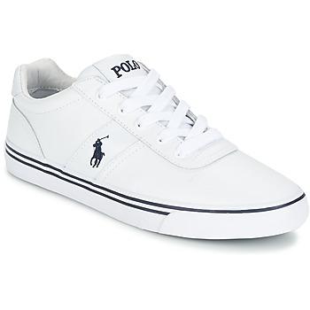 Zapatos Hombre Zapatillas bajas Ralph Lauren HANFORD Blanco