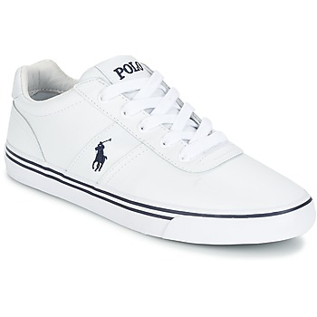 Zapatos Hombre Zapatillas bajas Polo Ralph Lauren HANFORD Blanco