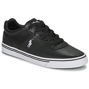 Zapatos Hombre Zapatillas bajas Ralph Lauren HANFORD Negro