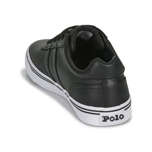 Zapatos Hombre Lauren Ralph Hanford Zapatillas Polo Bajas Negro PkuOXZiT