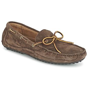 Zapatos Hombre Mocasín Ralph Lauren WYNDINGS Marrón