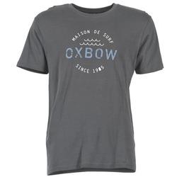 textil Hombre camisetas manga corta Oxbow TANKER Gris