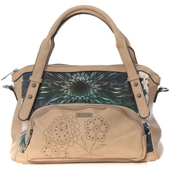 Bolsos Mujer Bolso Smash Sac cartable Pomme Beige Beige